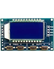sh84 PWM Signal Generator Pulse Frequency Duty Cycle Adjustable Module LCD Display 1Hz-150Khz 3.3V-30V PWM Board Module Integrated Circuit