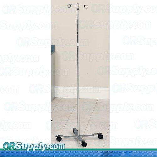 CLINTON KNOB LOCK IV STANDS IV Pole, heavy base w/ 2 hooks Item# IV-31