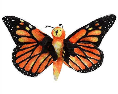 Wildlife Tree 13 Inch Monarch Butterfly Stuffed Animal Floppy Plush (Animals Tree Stuffed)