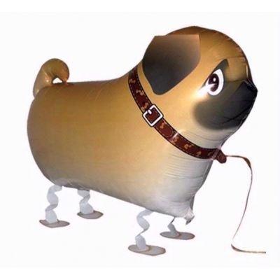 Pug Walking Pet Dog Birthday Party Balloon Airwalker Boy Girl Gift by 1PaysLess]()
