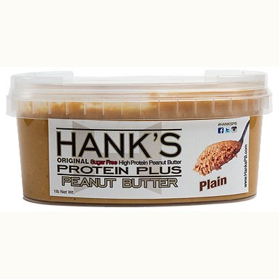 Hank's Protein Plus Peanut Butter Plain