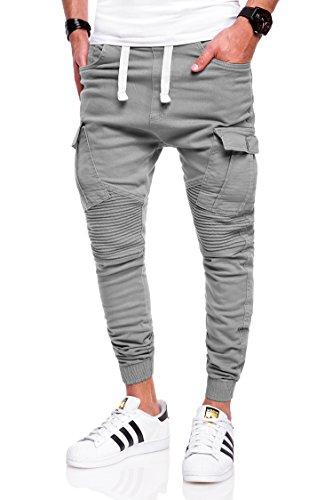 Uomo Chiaro Jeans Grigio Jeans Chiaro Grigio Uomo Jeans Behype Behype Behype w8RCqxzv