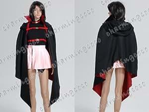 Magical Girl Lyrical Nanoha Cosplay Fate Testarossa Costume (Female S)
