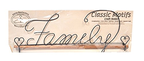 Ackfeld Fabric Holder with 16-Inch Dowel, Family - Fabric Ackfeld Holder