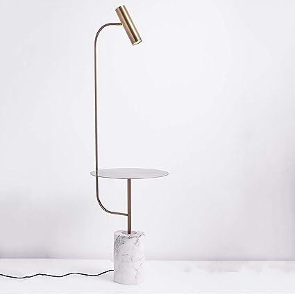 Amazon.com: Lámpara de pie con Estante Vertical Personalidad ...