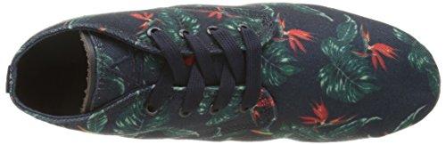 Eleven Paris Bastee - Zapatos de Cordones de tela mujer Multicolor