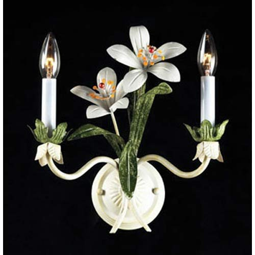 ELK Lighting Day Lillies Seashell Two-Light Sconce