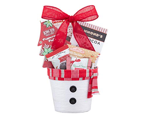 Wine Country Gift Baskets Christmas Winter Sweets Gift Basket, Holiday Gift Basket, Family Gift Basket, Congratulations Gift Basket, Celebration Gift Basket