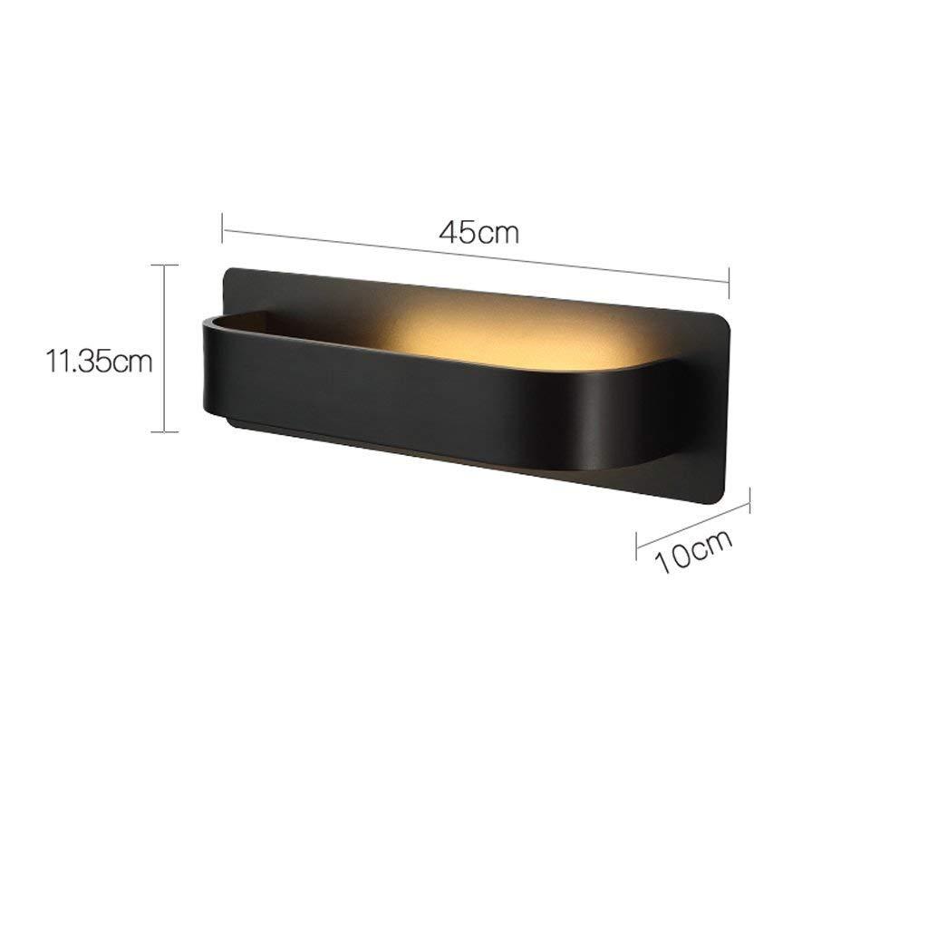 FuweiEncore Wandlampe Nachttischlampe Nordic Moderne Kreative Schlafzimmer Wohnzimmer Badezimmer Spiegel Frontleuchte Schminkspiegel Wandleuchte Wand Strahler (Farbe  A) (Farbe   C, Größe   -)