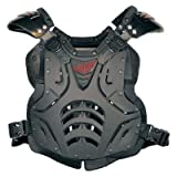 Fly Racing Polisport Fly Racing Convertible II Protective Gear , Distinct Name: Matte Black, Size Modifier: 150+lbs, Primary Color: Black, Gender: Mens/Unisex, Size: OSFM