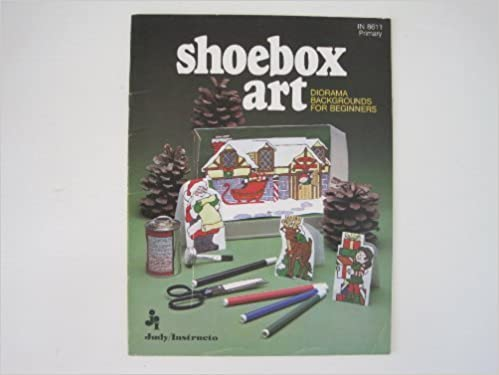 Christmas Shoebox Diorama.Shoebox Art Diorama Background For Beginners Order No In
