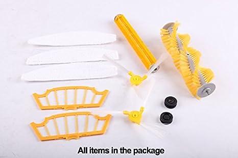 Liectroux Robotic Vacuum Spare Parts for A320, A335, A336, A337, A338: Amazon.es: Hogar