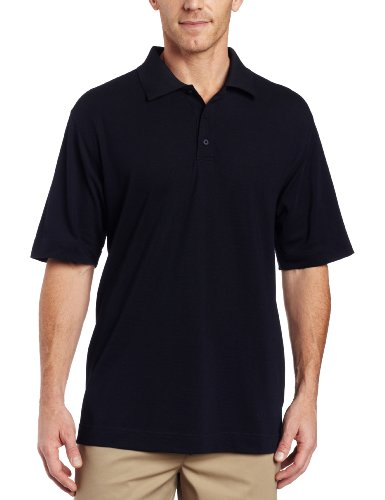 Cutter & Buck Men's CB Drytec Championship Polo, Navy Blue, Large