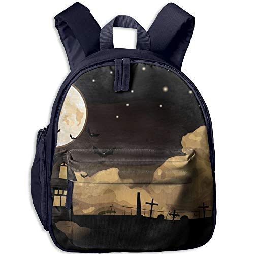 (Halloween Witch Funny Kids Bags Boys and Girls School)