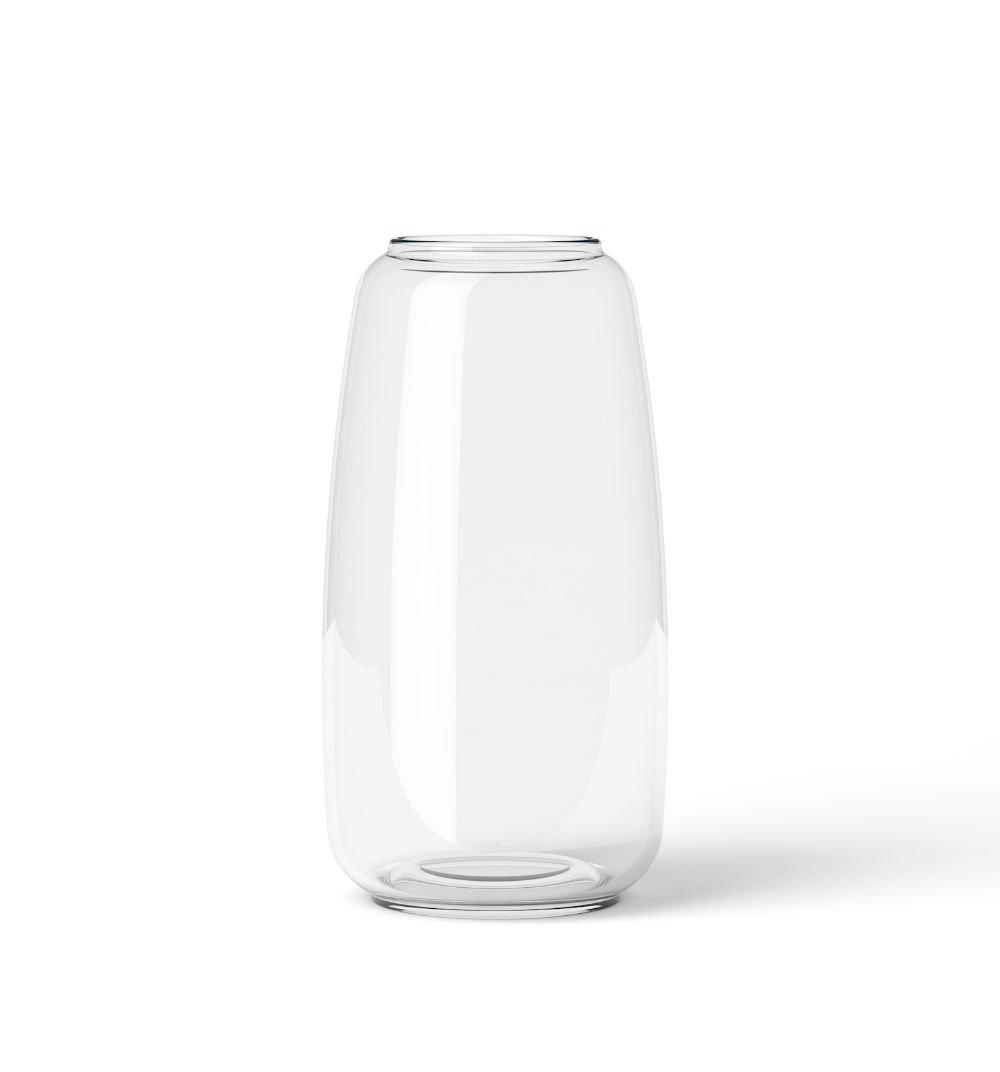 【Lyngby Porcelaen/リュンビュー ポーセリン】Form 130 H17.5cm/リュンビュー フォーム (Clear) B01NANQKZIClear