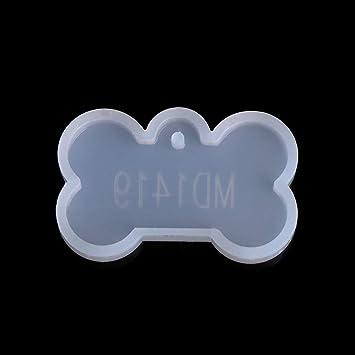 Misright Moldes de silicona para moldes de resina para perro, para pulseras, pulseras, joyas, bricolaje, utensilios para hornear: Amazon.es: Juguetes y ...