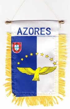 Azores - Window Hanging Flag ()