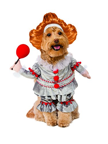 Scary Dog Halloween Costumes - Rubie's IT Movie Walking Pennywise Pet