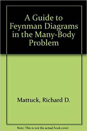 A Guide To Feynman Diagrams In The Many Body Problem Richard D