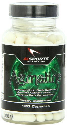AI Sports Nutrition Agmatine Capsules, comte 120