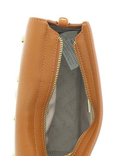 29b4cdaf887e Amazon.com  Versace EE1VQBBR6 E903 Tan Crossbody Bag for Womens  Shoes