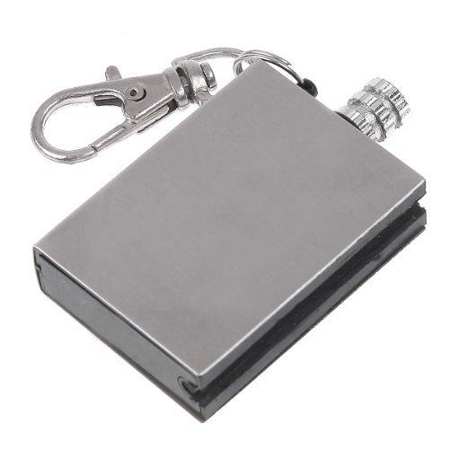 Etopstech Crazy Shopping 5pcs Metal Match Lighter Zippo Lighter Fluid Waterpoof Fire Starter Keychain for Camping Outdoor Boy Scouts