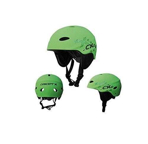 Concept X Helm CX Pro Grün Wassersporthelm: Größe: XS