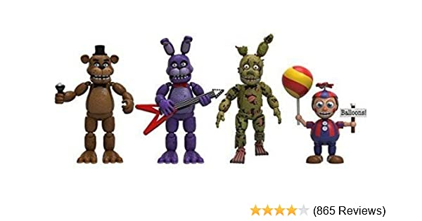 """Funko Five Nights At Freddys 4 Figure Pack 2/"""" Play Toy New Set 2"""