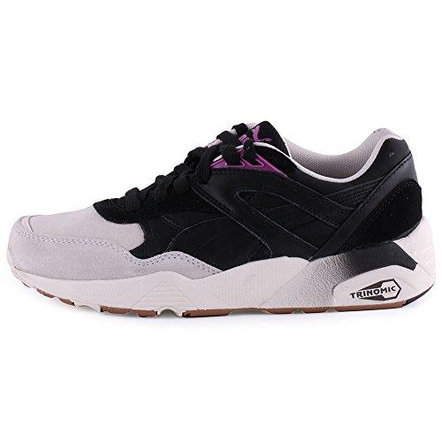 Puma R698 Blocks & Stripes Donna Sneaker Nero N3AAGlj5VN