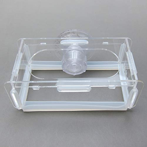 Alfie Pet by Petoga Couture - Guin Acrylic Shrimp Feeder - Size: Small by Alfie