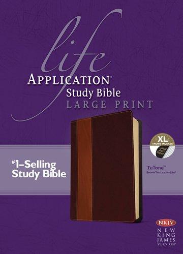 Download Life Application Study Bible NKJV, Large Print, TuTone PDF
