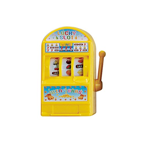 (Gbell Winning Games Bingo Cage Lottery Candy Fruits Machine Gift Small Toys for Kids Children Toddler (A))