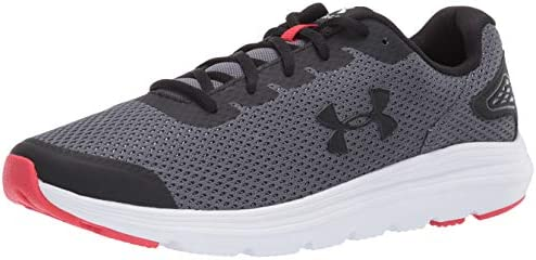 Black//White Under Armour mens Surge 2 Running Shoe 7.5 US