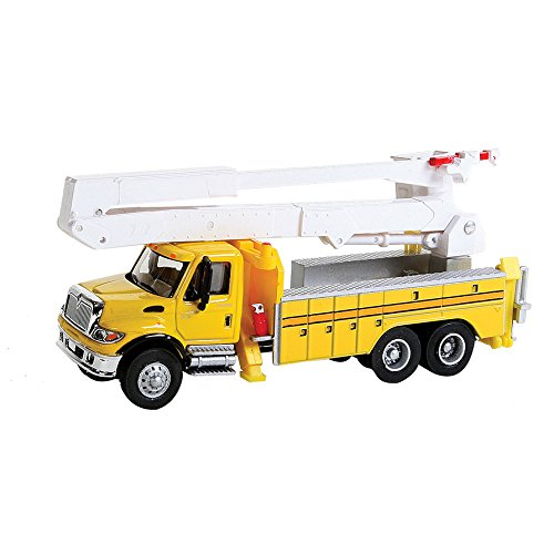- Walthers SceneMaster International 7600 Utility Truck with Bucket Lift, Yellow