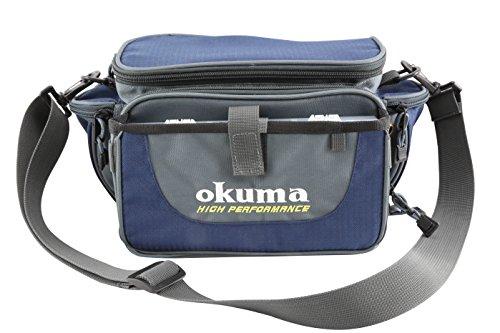 Okuma Fishing Tackle Soft Sided Tackle Bag, Small (Soft Systems Tackle)