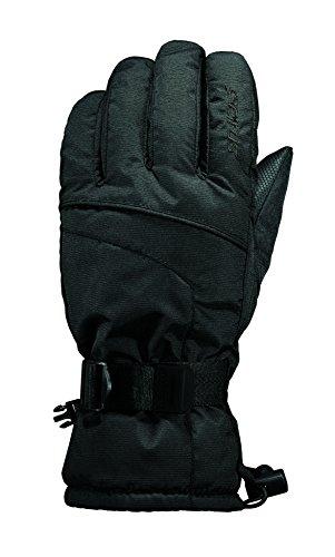 Seirus Innovation Men's Heatwave Plus Glide Cold Weather Waterproof Gloves, Black, Medium (Plus Black Gloves)