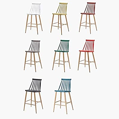 Amazon.com - WF-chairs Taburete De Bar Eólico Industrial, Silla Alta ...