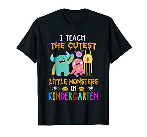 (I Teach The Cutest Little Monsters In Kindergarten)