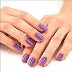Lakmé 9 to 5 Primer + Gloss Nail Colour, Lilac Link, 6 ml
