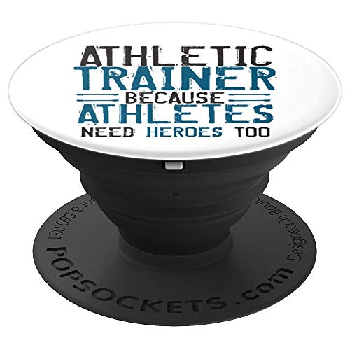 Athletic Trainer Funny Athletes Heroes Sports Gift - PopSockets Grip and Stand for Phones and Tablets