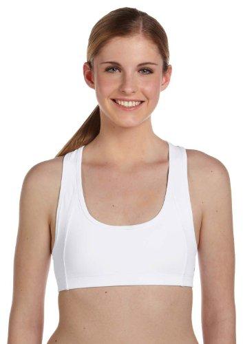Alo Sport Ladies' Mesh Back Sports Bra XL/2XL WHITE