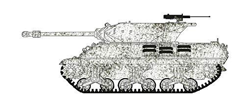 Tank Reg - Hobbymaster Achilles IIc, 75th Anti-Tank Reg., Royal Artillery, 11th Armoured Div., Belgium 1/72 Die Cast Model HG3422