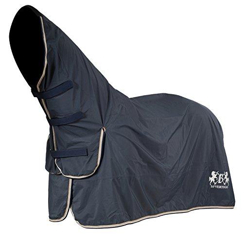 B Vertigo Calisto Waterproof Full Neck Protect Rain Sheet with Quick Dry Breathable Lining Dark Navy 75'' by B Vertigo