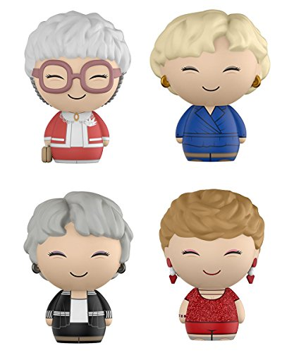 FunKo Dorbz: Golden Girls Bundle- Includes Dorothy, Blanche,