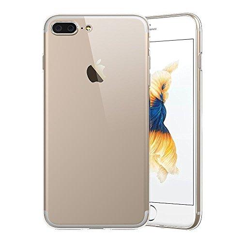 iPhone 7 Plus Case, ACEPower Premium Clear Flexible Soft TPU Slim Case for iPhone 7 Plus 2016 - 0.4mm Extremely Thin - Ultra Clear Flexible Soft TPU / Extra Grip - Proof Bumper Cases (Ultra Clear)