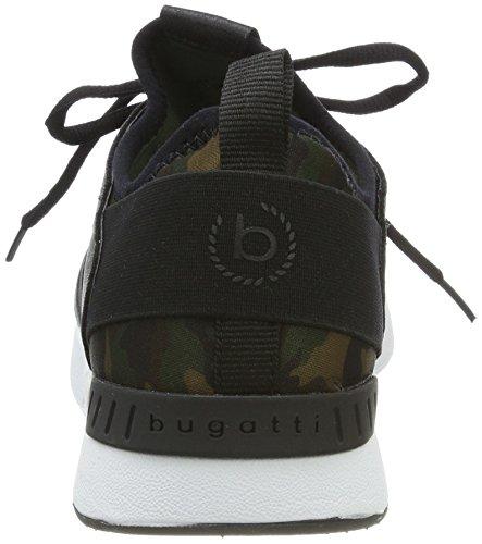 Bugatti Damer 442271656900 Sneaker Grøn (mørkegrøn) NJNwamge