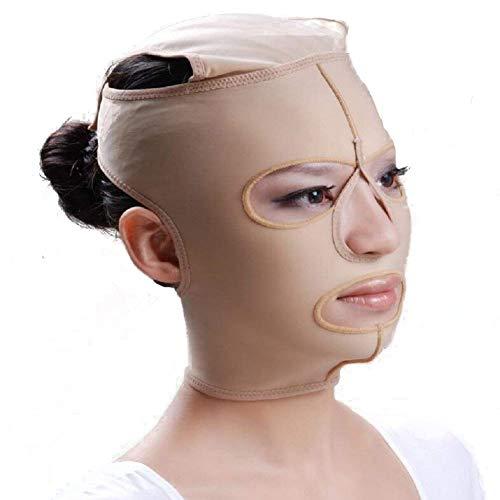 Lanpeed Anti Wrinkle Belt Full Face Slimming Cheek Mask Lift V Face Line Slim up Belt Strap 5 Size For Your Choice (M)