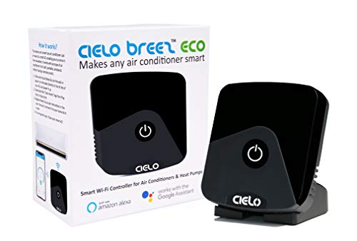 - Cielo Breez Eco, Smart Air Conditioner Remote Controller | Smart AC Controller & WiFi Thermometer Monitor - Two in One| Amazon Alexa, Google Home, iOS, Android & Web Compatible | Makes Your A/C Smart