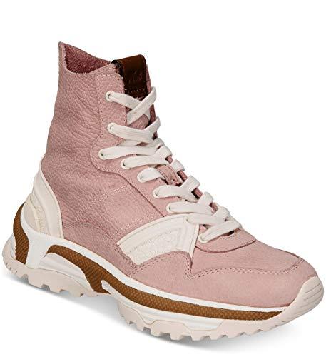 Coach C243 Womens High-Top Sneakers Blush Pink (Sneakers Top Coach High)