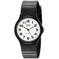 Reloj analógico Casio MQ24-7B2 para hombre con banda de resina negra